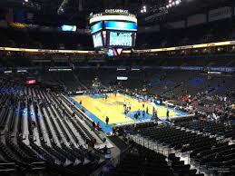 Seating Chart Chesapeake Energy Arena Chesapeake Energy Arena Section 202 Oklahoma City Thunder