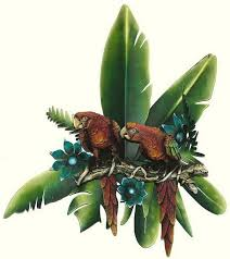 on tropical themed wall art with tropical bird fish and sun wall art tropical themed wall decor