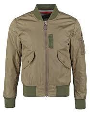 schott nyc men jackets fairfield summer jacket khaki