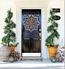 spring decorating ideas front door idea