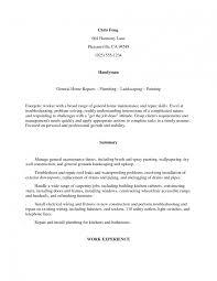 Self Employed Resume Templates Self Employed Resume Templates Job And Template Handyman Samples 16