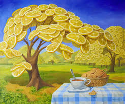 Surreal Paintings World Full Of Lemons By Surrealist Painter Vitaly Urzhumov