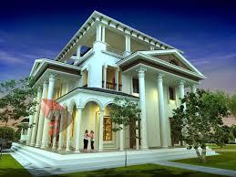 Elegant 1x1 Trans Luxurious Bungalow House Plans At 2988 Sq Ft Luxury Design  ...