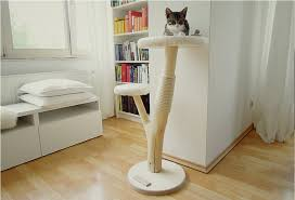 modern design cat furniture. image of single contemporary cat tree modern design furniture