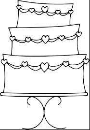Small Picture Terrific birthday cake coloring pages preschool with birthday cake