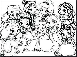 970x725 baby princess coloring pages princess coloring sheets princess