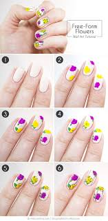 Easy Nail Art Designs DIY Projects Craft Ideas & How To's for Home ...