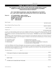 Wisconsin License Form 11b Surety Bond