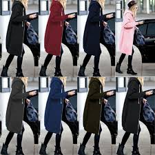 Wipalo <b>2019 Autumn</b> Winter <b>Casual</b> Women Long <b>Hoodies</b> ...