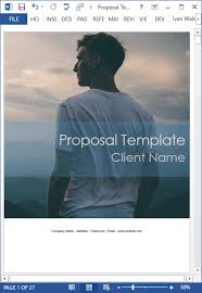 New: 10 Business Proposal Templates (Ms Word And Excel) | Templates ...