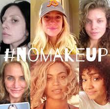 the no makeup selfie