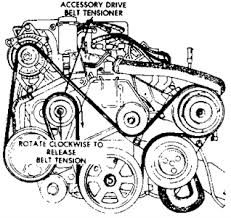 solved i need a diagram for the serpentine belt for 1993 fixya serpentine belt diagram 1993 chrysler lebaron v6