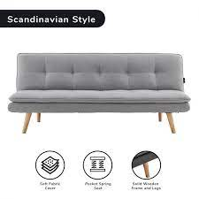 cloud plush tufted sofa bed with