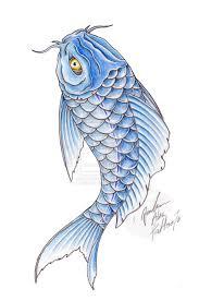 Koi Fish Design Blue And Green Koi Fish Tattoo Designs Swirly Fsih By Koi