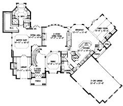 european style house plan 4 beds 4 5 baths 4376 sq ft plan 54 House Plans Cost Build Calculator floor plan main floor plan Average Cost for House Plans
