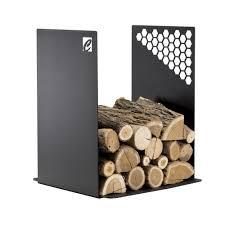 modern log holder caf design made in italy
