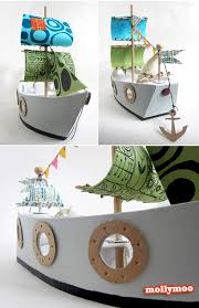 diy pirate ship diy cardboard pirate ship
