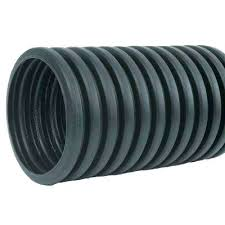 plastic drain pipe 6 in x ft solid drainage sizes fittings corrugated