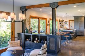 featured project industrial farmhouse kitchen lounge two bathroom remodel in westlake village