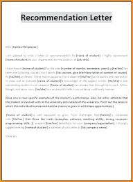 Sample Letter Of Recommendation For College Admission From Teacher Letter Of Recommendation Templates For Letters Recommendations Frees