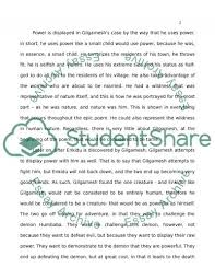power in gilgamesh and the odyssey essay example topics and well power in gilgamesh and the odyssey essay example