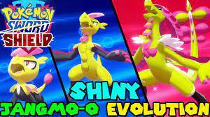 Evolving SHINY JANGMO-O to SHINY KOMMO-O in Pokemon Sword & Shield - YouTube