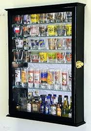 shot glass display case large mirror backed and 7 glass shelves shot glasses display case holder shot glass display case