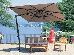 rectangular patio umbrella contemporary double outdoor
