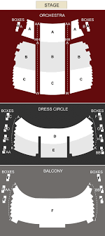 Matilda The Musical Seating Chart Princess Of Wales Theatre Toronto On Seating Chart