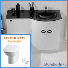 Bathroom Suites Ebay D Shape Bathroom Vanity Unit Basin Sink Bathroom Wc Unit Btw
