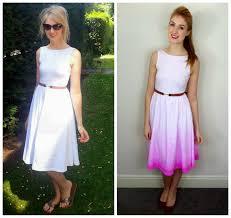 diy ombre dip dye dress