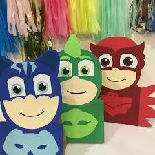 Pj Mask Party Decorations Pj masks party pj mask party decoration pj masks treat bags 32