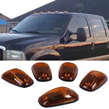 Pacer Led Cab Lights Buy Pacer Ford Style Cab Roof Running Lights Kit 5 Lights