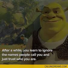 Shrek Quotes Inspiration Shrek Quotes