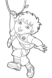 Small Picture diego coloring pages 100 images diego diego rivera coloring