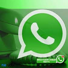 Tüm Kanalların ve Gazetelerin WhatsApp İhbar Hatları