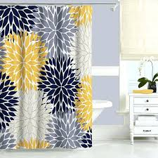 gray and aqua shower curtain marvellous ideas gray and aqua shower curtain blue yellow fl