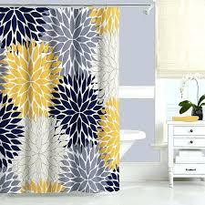 gray and aqua shower curtain marvellous ideas gray and aqua shower curtain blue yellow fl