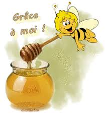 """Résultat de recherche d'images pour """"gif animé danger abeille"""""""