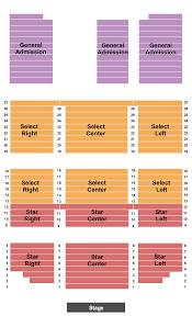 Alerus Center Concert Seating Chart Minnesota Concert Tickets Seating Chart Shooting Star