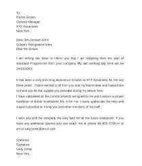 Letter Of Resignation 2 Weeks Notice Sample Nurse Examples Week Doc