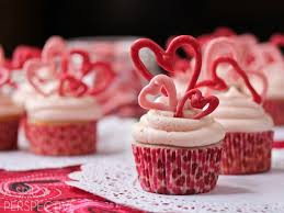 Image result for cupcakes with hearts