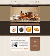 Cake Cafe Bootstrap Template Gridgum