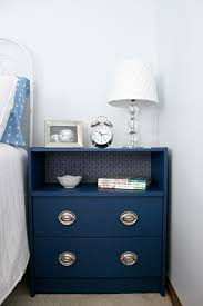 Ikea Rast hacks, 50 of the best Ikea Rast hacks, navy nightstand, navy