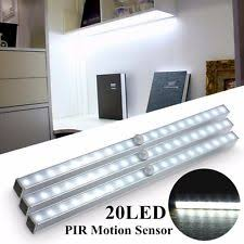 wireless closet lighting. cabinet closet light wireless pir led bar motion sensor night room lighting a