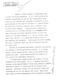 Telephone Listing Vertical Files Logtown Telephone Directory Robert Baxter