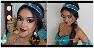 princess jasmine makeup hair tutorial