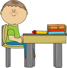 student desk clipart. Contemporary Student Art Clip Student Work At Desk 1735681 License Personal Use And Clipart