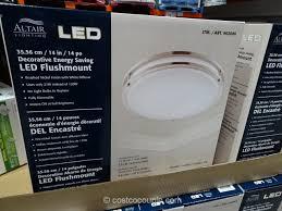 altair lighting 14 inch flushmount led light fixture costco 2