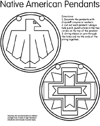 Native American Coloring Pages Free Download Jokingartcom Native